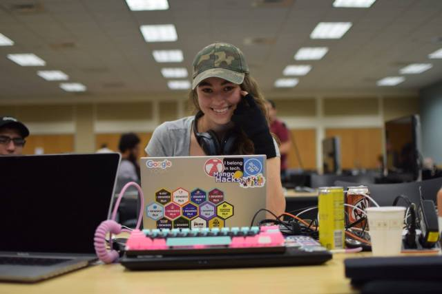 Photo of Krista Shuckerow at Global Game Jams 2018 at FIU
