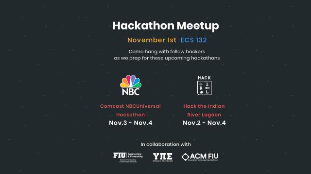 Flyer of Hackathon Meetup