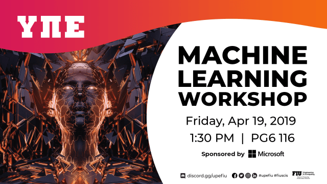 UPE - Machine Learning Workshop | School of Computing and