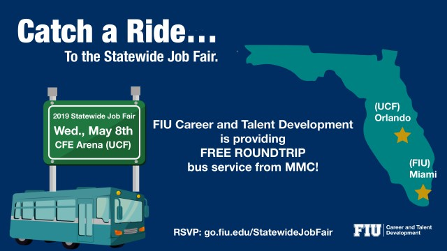 Flyer of Statewide Job Fair