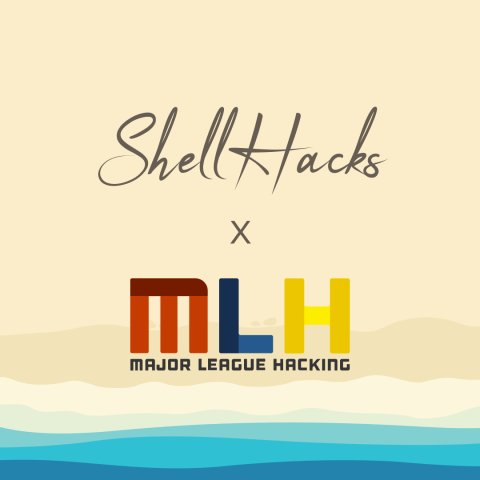 Image of ShellHacks and MLH flyer