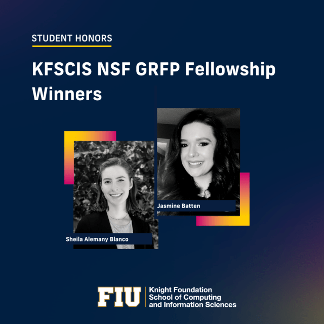 FIU Engineering Students Awarded Prestigious NSF Research Fellowships