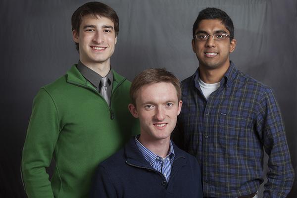 Benjamin Lefler, Daniel Charytonowicz, and Adam Ramsaran.