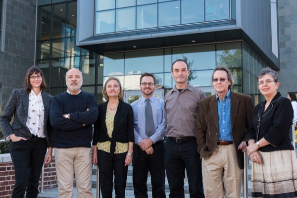 Lindsay Hoffman, Ismat Shah, Robin Andreasen, Tom Powers, Mark Greene, Stephen Taylor (DSU), and Zoubeida Dagher.