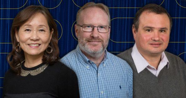 Professors Wu, Brown, and Janotti