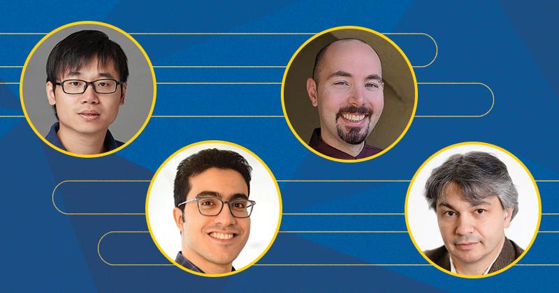CIS NEw Hires: Xing Gao,Mohammadmahdi (Mahdi) Khaliligarekani (Khalili), Matthew Mauriello, Ilya Safro