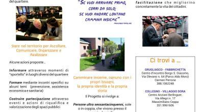 An.Co.Re.: Anziani, Comunità, Reti. Un progetto per promuovere ascolto, solidarietà e cittadinanza attiva.