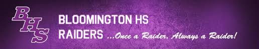 Bloomington High School Banner