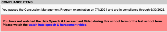 Hate Speech and Harassment Video