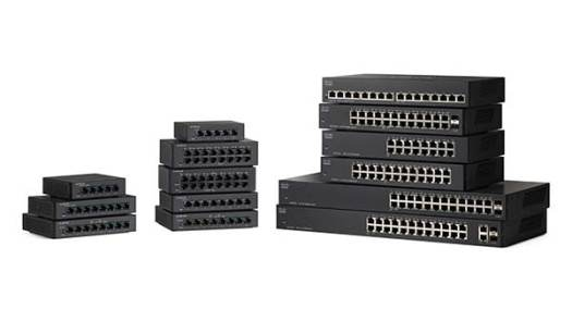 Unmanaged Switches Cisco 110 Series