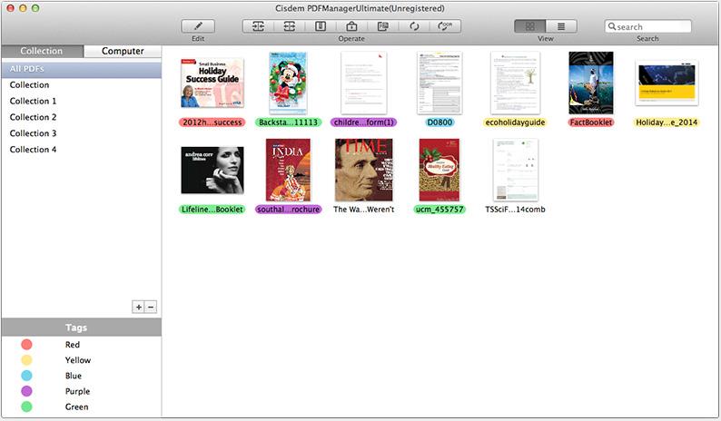 Cisdem PDF Manager Ultimate Mac 破解版 PDF编辑与管理工具