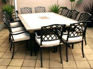colorful dining furniture
