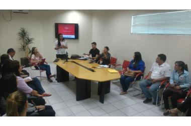Escritório de Qualidade apresenta propostas de trabalho aos líderes do SAMU Macro Norte
