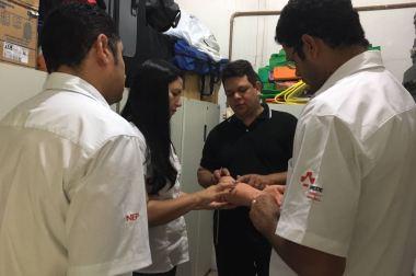 NEP do SAMU Macro Norte recebe equipe do Cisnorje
