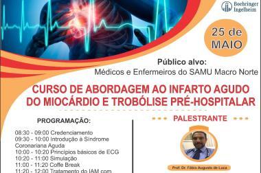 Profissionais do SAMU terão capacitação sobre uso do trombolítico