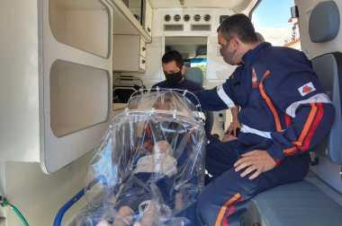 SAMU Macro Norte cria cápsula para transporte de pacientes com coronavírus