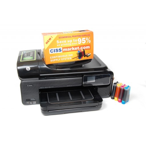 HP Officejet Pro 7500A e-All-in-One, A3+ cu sistem CISS