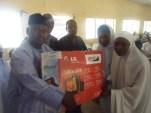 Participant Reciving Prize