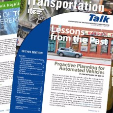 Transportation Talk – Summer 2017 Edition