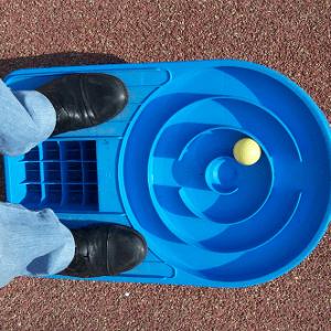 Labyrinthe pieds