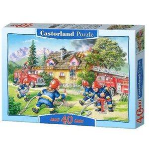 Puzzle Les pompiers maxi 40 pièces