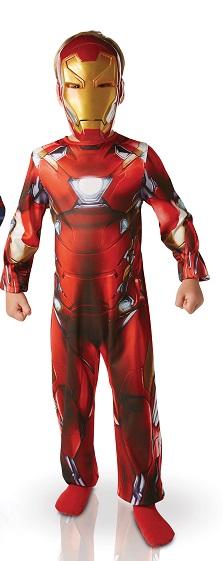 Costume Iron man 5 à 6 ans