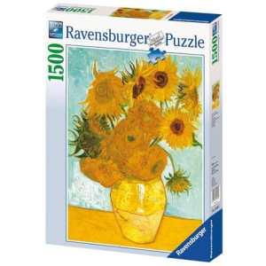 Puzzle Les tournesols 1500 pièces