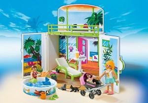 Playmobil Coffre Terrasse de vacances ref 6159