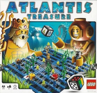 Jeu Légo Atlantis Treasure