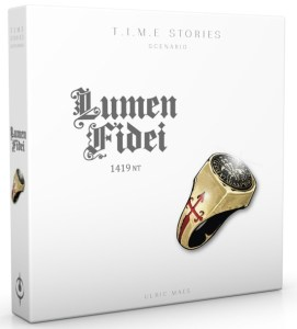 T.I.M.E. Stories extension Lumen Fidei