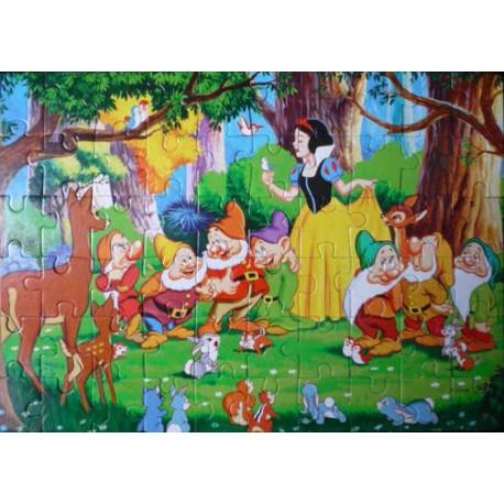 Puzzle-Blanche-Neige-60-pieces