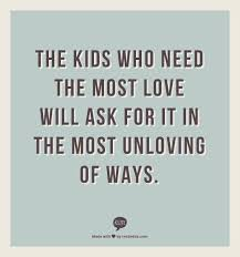 kids who need the most