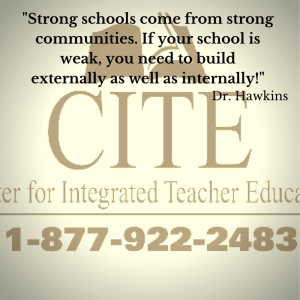 -Strong schools come from strong