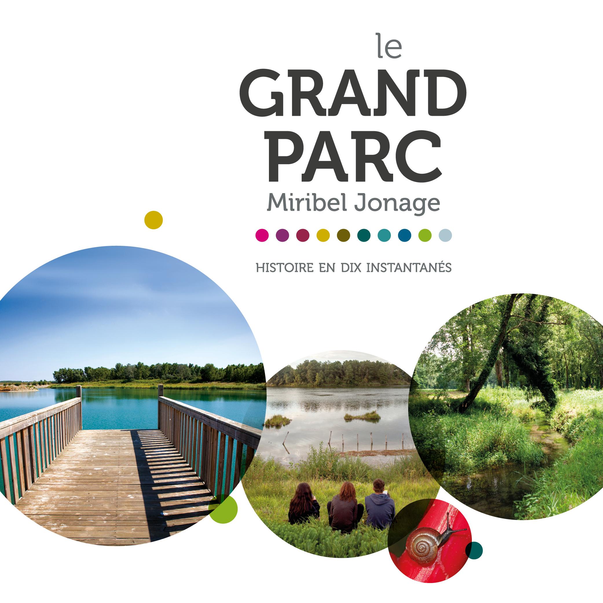 Grand Parc Miribel Jonage par Cités Plume, agence de communication à Villeurbanne, Rhône