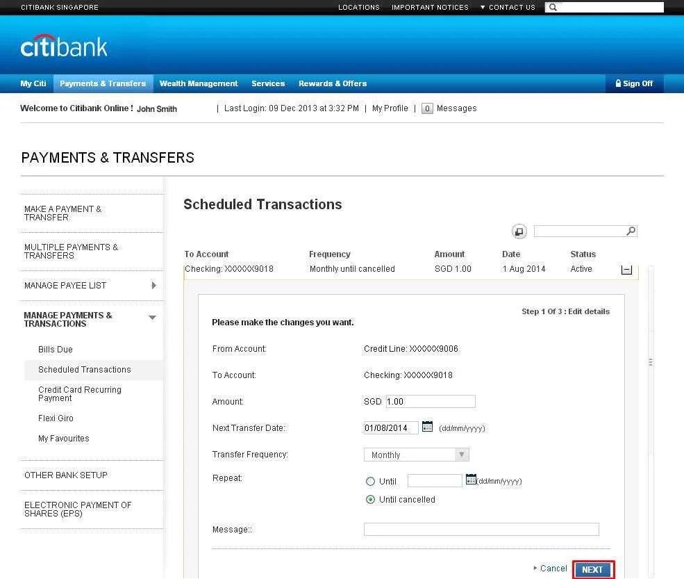 Make Citibank Credit Card Payment