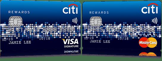 Image result for citi rewards card