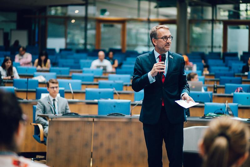 Martin Frick of the UNFCCC speaks