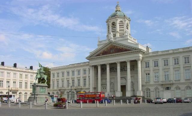 Кралският площад в Брюксел