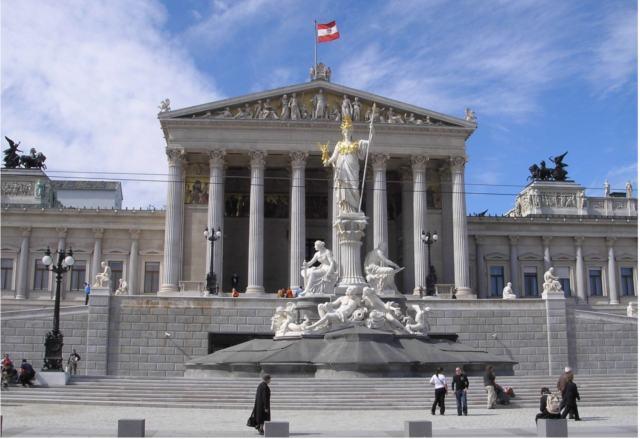 Сградата на австрийския парламент