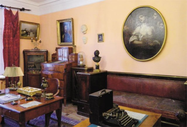 tolstoy room museum