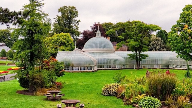 ботанически градини на Глазгоу