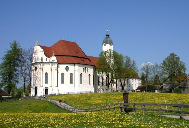 Южният Романтичен път в Бавария