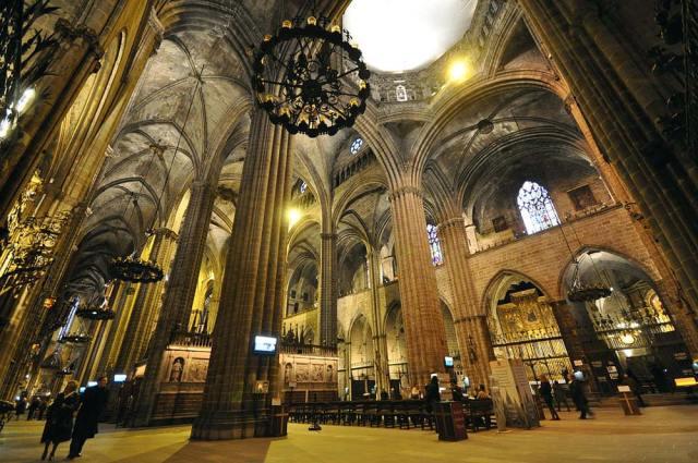 катедралата Санта Креу и Санта Еулалия