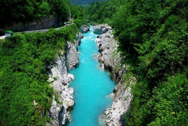 Езерата на Словения