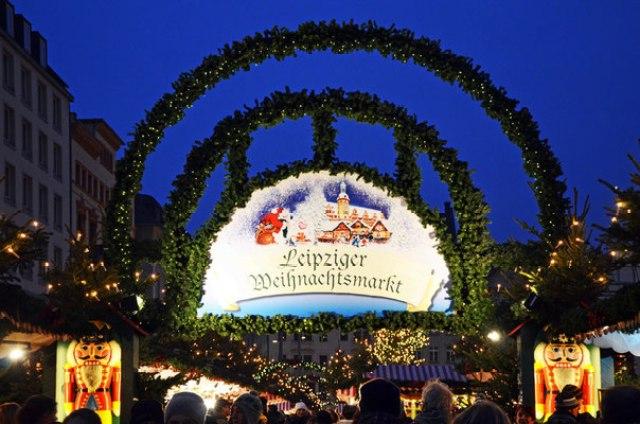 Коледният базар в Лайпциг