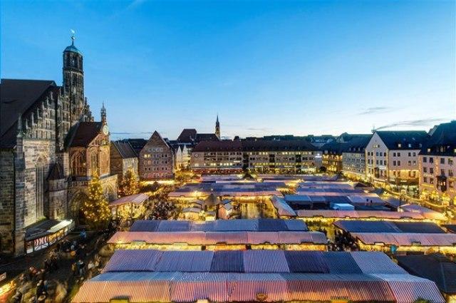 Коледният базар в Нюрнберг