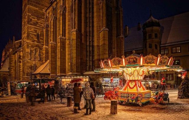 Коледният базар в Ротенбург Об Дер Таубер