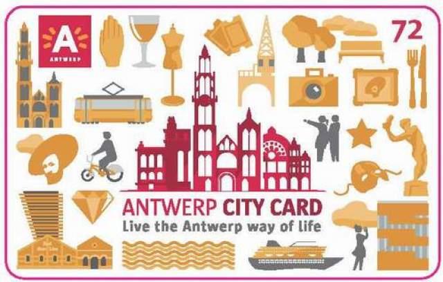 Туристическа карта Antwerp City Card
