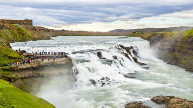 Водопадът Гюдълфос