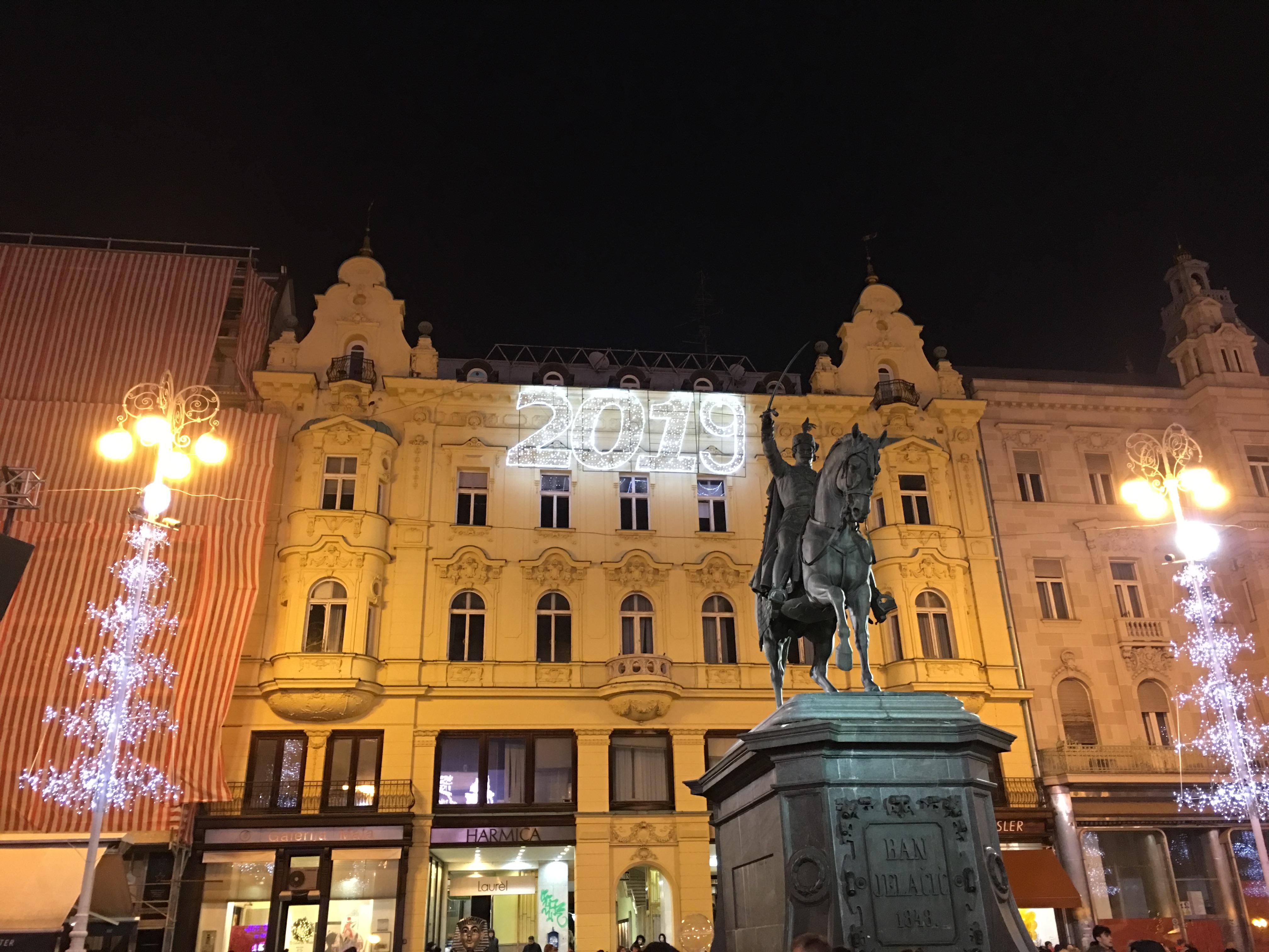 Галерия: Коледният базар в Загреб